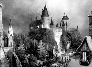 """""""哈利·波特魔法世界""""效果图"""