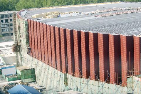 体育馆外墙