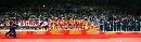 图文:中国女排3-2古巴夺冠 赛后颁奖现场