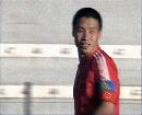 图文:[土伦杯]中国国奥VS葡萄牙 功臣陈涛庆祝