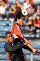 图文:[土伦杯]中国国奥1-1葡萄牙 王寿挺解围