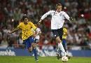 图文:英格兰1-1巴西 高佬技术堪比桑巴