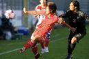 图文:[土伦杯]国奥1-1葡萄牙 代钦华传中