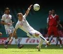 图文:[欧预赛]威尔士0-0捷克 罗森哈尔打倒勾