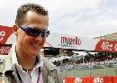 图文:[MOTOGP]意大利站舒马赫 回到赛场感觉好