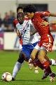 图文:[土伦杯]国奥2-1荷兰 于海突破犀利