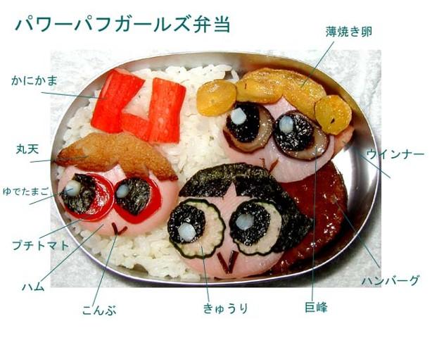 卡通 寿司/你吃过这样的寿司吗?[组图]