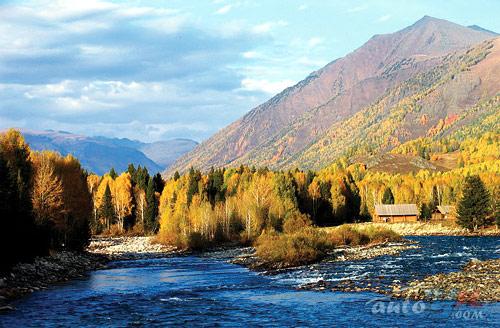 新疆鲜为人知的摄影胜地-古镇禾木