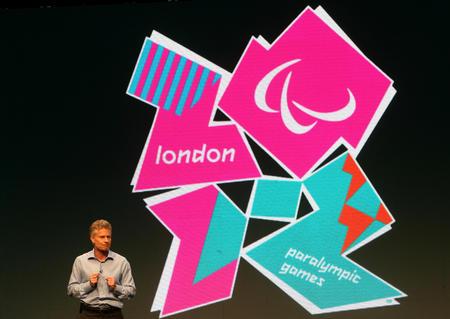 图为2012年伦敦残奥会会徽  新华社记者谢秀栋摄
