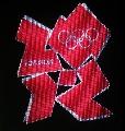 图文:伦敦2012年奥运会会徽发布 现场展示