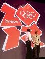 图文:伦敦发布2012年奥运会和残奥会会徽