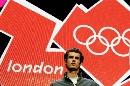 图文:伦敦奥运会徽发布 网坛王子穆雷出席