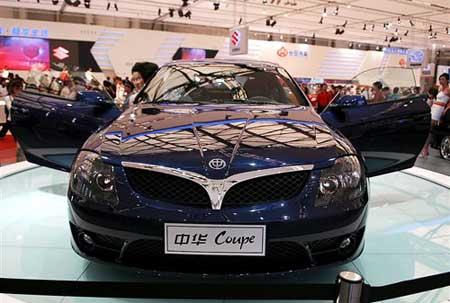 华晨M3跑车7月上市 售价20万元左右高清图片