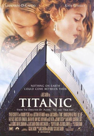 《泰坦尼克号》海报