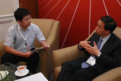 """中国网通副总工程师左风做客搜狐IT""""第一访谈"""""""