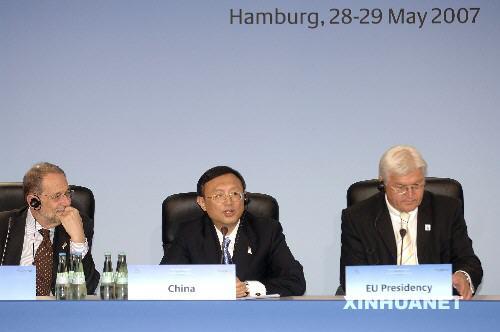 杨洁篪阐述中国对亚洲合作对话和气候变化的主张[0]