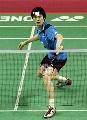 图文:苏杯中国二号男单鲍春来 印尼赛无缘冠军