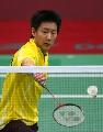 图文:苏杯中国三号男单陈金 亚运为中国队立功