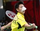 图文:苏杯中国三号男单陈金 亚运小组赛吃败仗