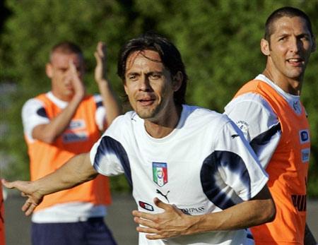 图文:[欧预赛]意大利备战立陶宛 杀手因扎吉
