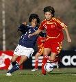 图文:[女足]中国1-0阿根廷 季婷稳健护球