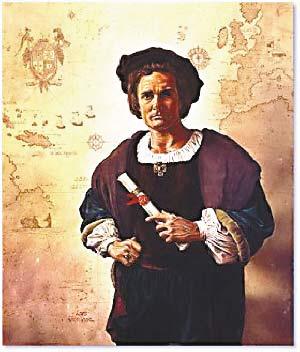 """在1492年登上美洲的哥伦布被称为""""新大陆的发现者"""",但如今哥伦布遭到了挑战。(资料图片)"""