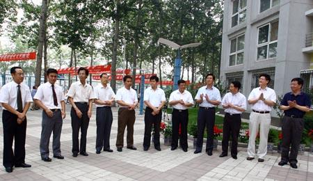 奥组委相关部门领导及各业务口团队成员出席了揭牌仪式