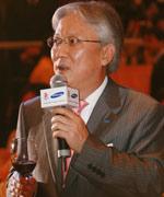 图:三星电子大中华区总裁朴根熙举杯致辞