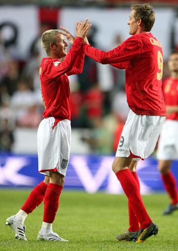 图文:英格兰2-0爱沙尼亚 克劳奇感谢小贝