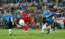 图文:英格兰3-0爱沙尼亚 科尔破门瞬间