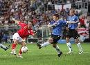 图文:英格兰3-0爱沙尼亚 科尔身体变形了