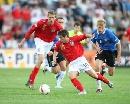图文:英格兰3-0爱沙尼亚 这一高一矮
