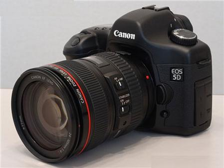 红圈IS防抖镜头 佳能全画幅5D套机降价