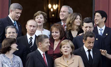 八国峰会各国各怀心事。