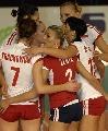 图文:瑞士精英赛古巴开门红 波兰女排团结一致