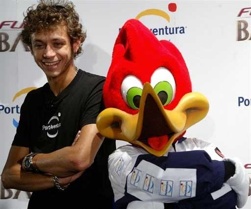 西班牙/组图:MotoGP西班牙站罗西赛前坐过山车过瘾