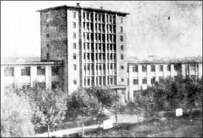 当年的杭州大学图书馆楼