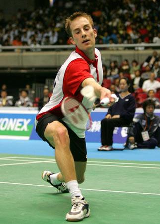 丹麦羽球名将盖德 06汤杯决赛0-2不敌林丹