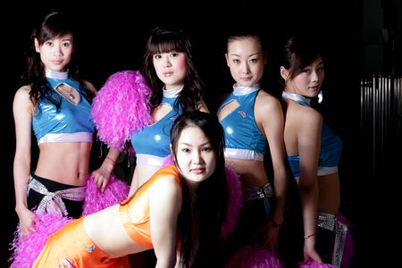图文:cba美女啦啦队艺术照欣赏