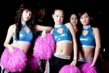 组图:cba美女啦啦队艺术照欣赏