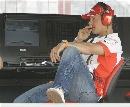 图文:[F1]加拿大站次回练习 悠闲的舒马赫
