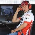 图文:[F1]加拿大站次回练习 舒马赫在控制台