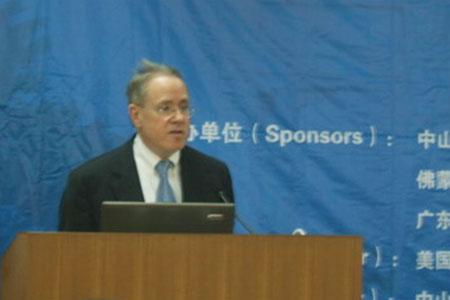 美国驻广州总领事馆总领事罗勃特.高德博格