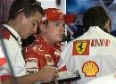 图文:[F1]加拿大站末次练习 莱科宁在休息
