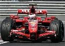 图文:[F1]加拿大站末次练习 莱科宁过弯