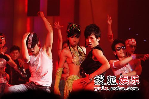 张杰拉丁热舞
