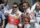 图文:[F1]加拿大站排位赛 身后的海德菲尔德