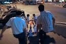 图文:[体操]队员不慎发生意外 医护人员急出动