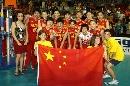 图文:瑞士精英赛圆满落幕 中国女排喜气洋洋