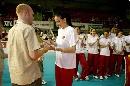 图文:瑞士精英赛圆满落幕 土耳其女排领奖